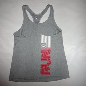 Old Navy Active Athletic Tank Top Yoga L Run Flag